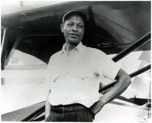 Cornelius Coffeywas an African American aviator. He was the first African American to create a non-university-affiliated aeronautical school in the United States and the first African American to hold both a pilot's and a mechanic's license.