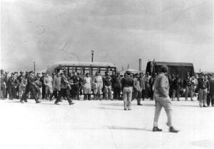Image of the Freeman Field Mutiny courtesy of the Air Force Historical Research Agency.