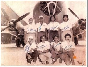 IAM members from District Lodge 751 were among the African-American Rosie the Riveters who played a large part in building planes during WWII.