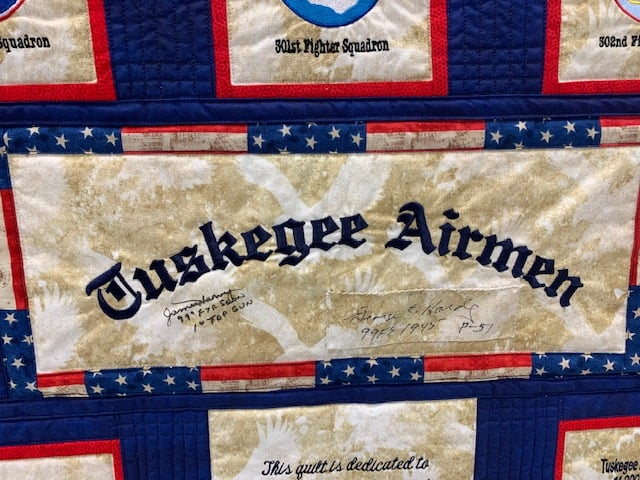Tuskegee Airmen Quilt