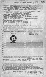Missing Air Crew document