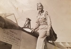 Perry Dillman, an instructor for the Red Tails