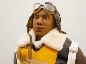 Representation of Tuskegee Airman Carl Woods