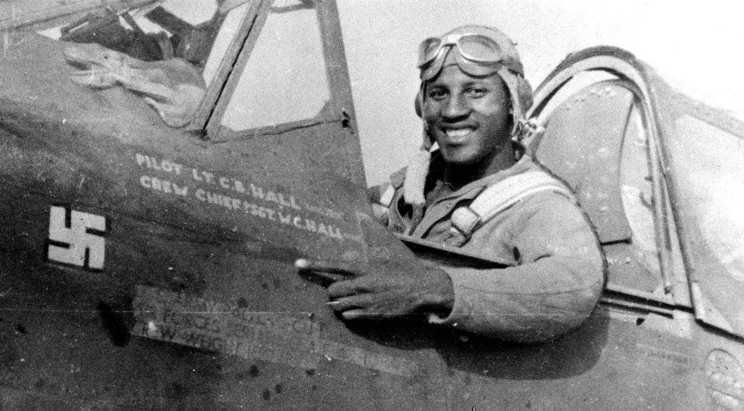 Charles Hall Was the First African-American Pilot to Shoot Down a Nazi Plane During World War II