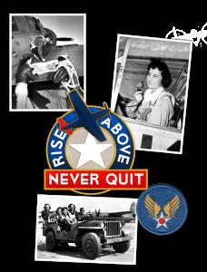 W never quit